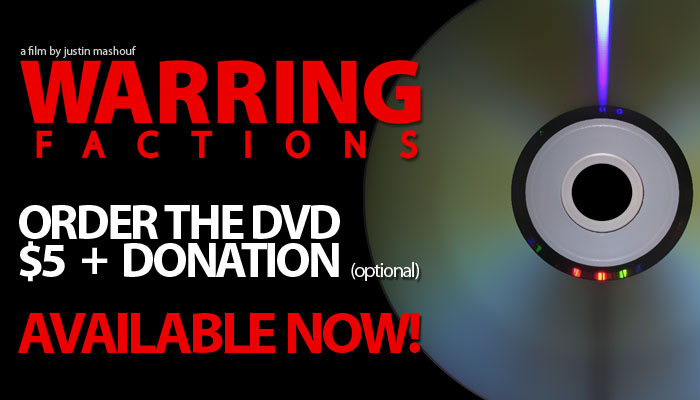 Pre-Order the Warring Factions DVD Today